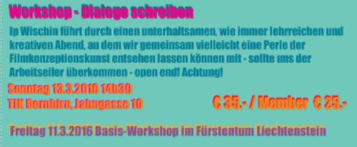 Dialog schreiben - Ip Wischin